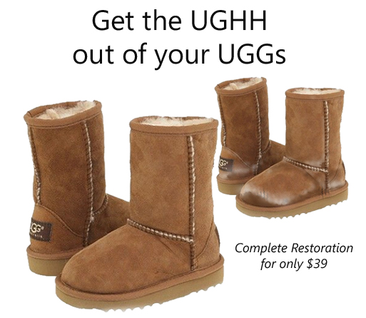 dry cleaning ugg boots